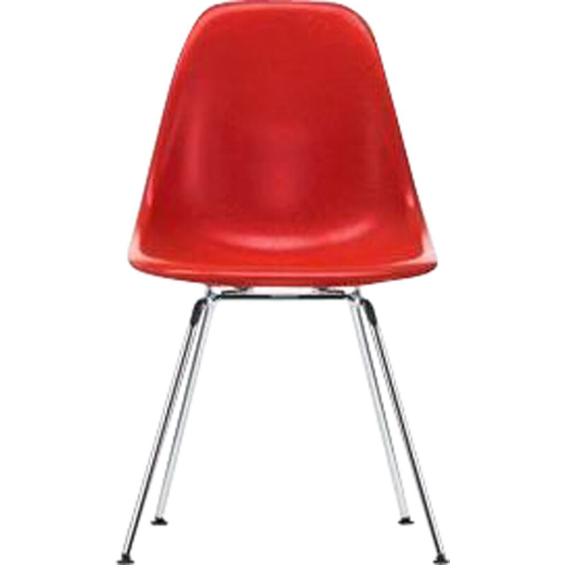 """Fiberglass Side Chair DSX"" by Charles and Ray Eames for VITRA"