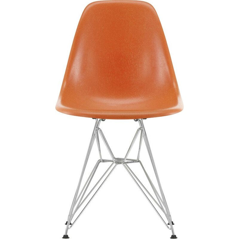 """Fiberglass Side Chair DSR"" by Charles and Ray Eames for VITRA"