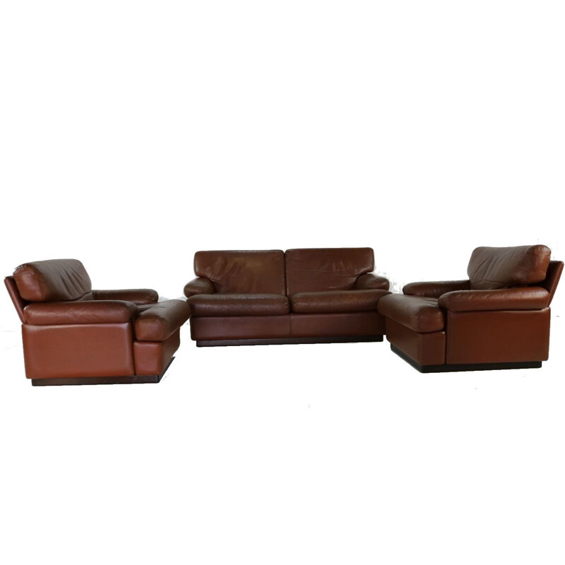 Vintage living room set 928 by Vico Magistretti for Formes Nouvelles Cassina
