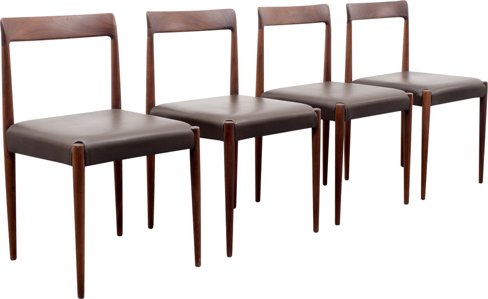 Chesterfield Pull Out Sofa Images On Etsy Ideas For The  : set of four lubke dining chairs in teak and leather 1960s from favefaves.com size 1000 x 614 jpeg 65kB