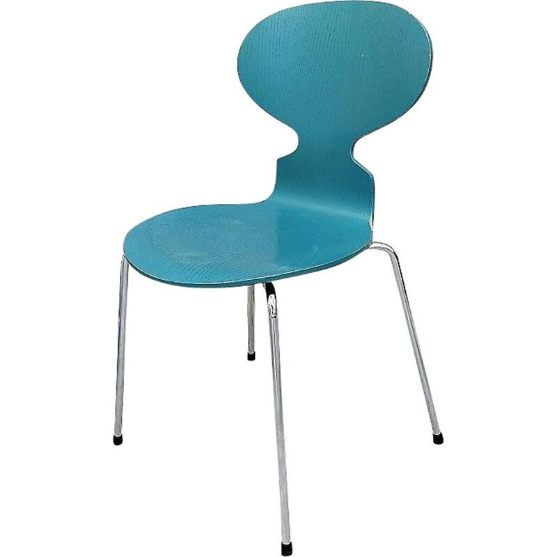Blue Ant Chair by Arne Jacobsen for Fritz Hansen