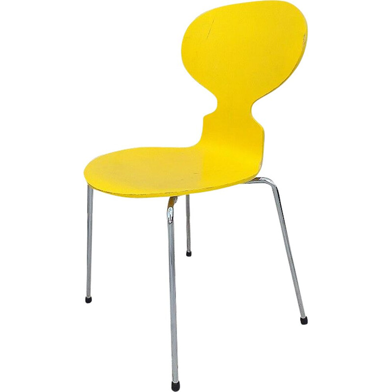 Yellow Ant Chair by Arne Jacobsen for Fritz Hansen