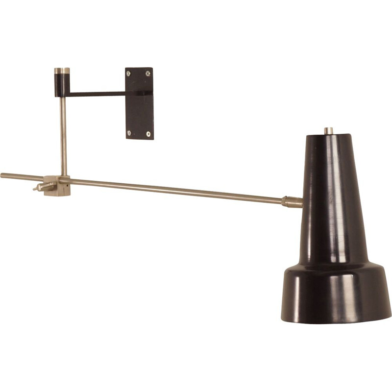 Vintage Wall Lamp Model 55 by Hagoort, 1960