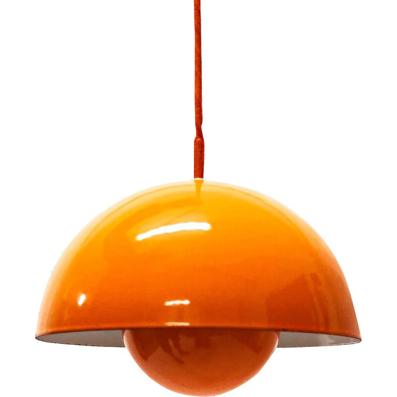 Vintage Flowerpot Pendant Light from Verner Panton for Louis Poulsen, Denmark, 1960