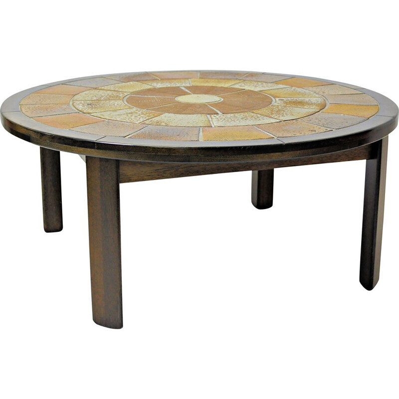 Tue Poulsen Vintage Coffee Table in Rosewood, 1960