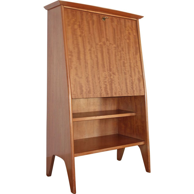 "Vintage ""Junior"" secretary desk by Roger Landault for ABC in mahogany, 1950"