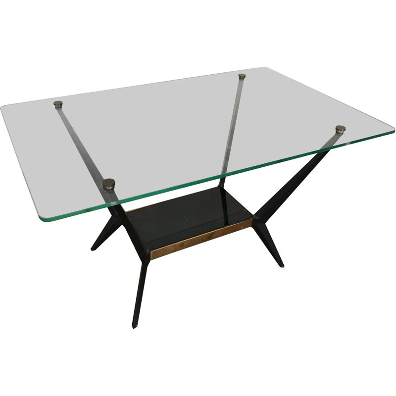 Vintage Coffee Table by Angelo OSTUNI, Arlus Edition, 1950