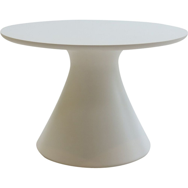 Vintage coffee Table in Resin and Formica, Mushroom Model by Arkana, 1970s