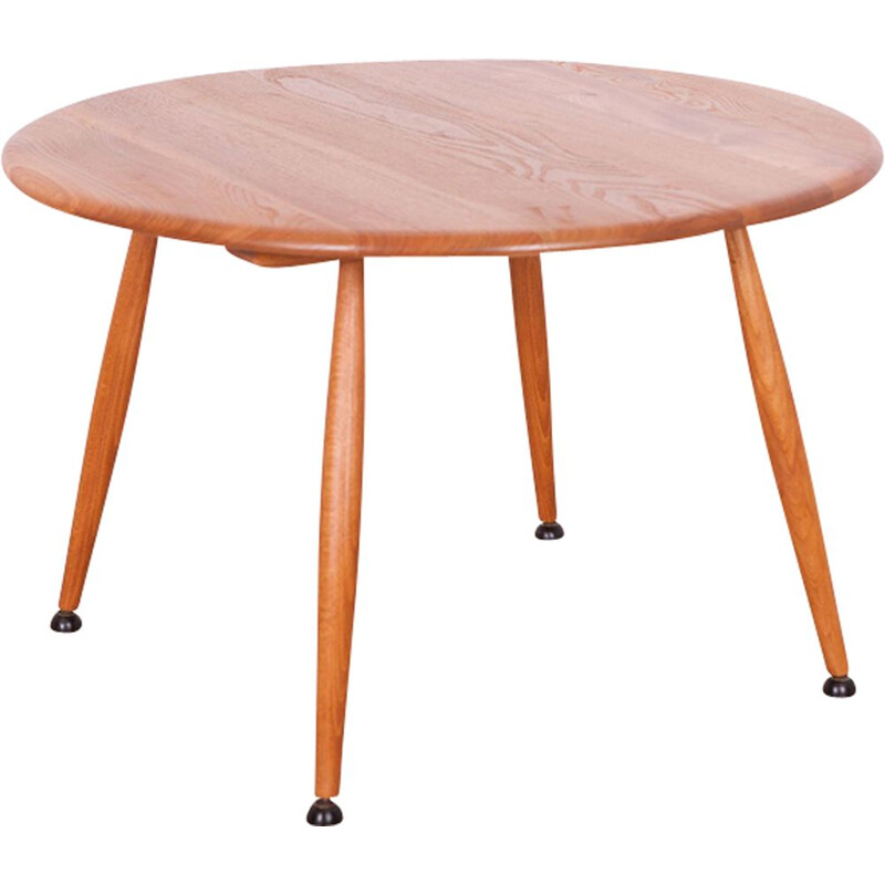 Vintage coffee table in elm by Lucian Ercolani for Ercol