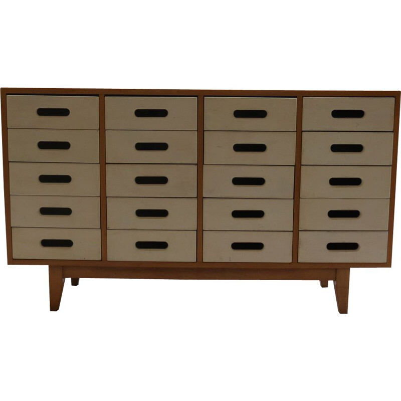 ESA 1 vintage chest of drawers by James Leonard for Esavian