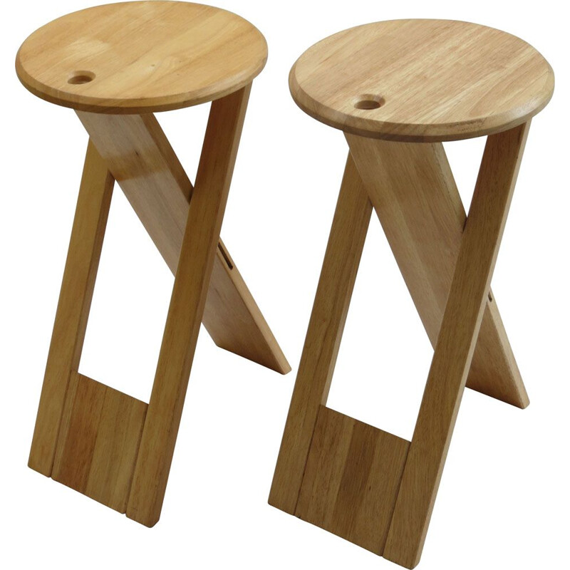Pair of Suzy stools by Adrian Reed