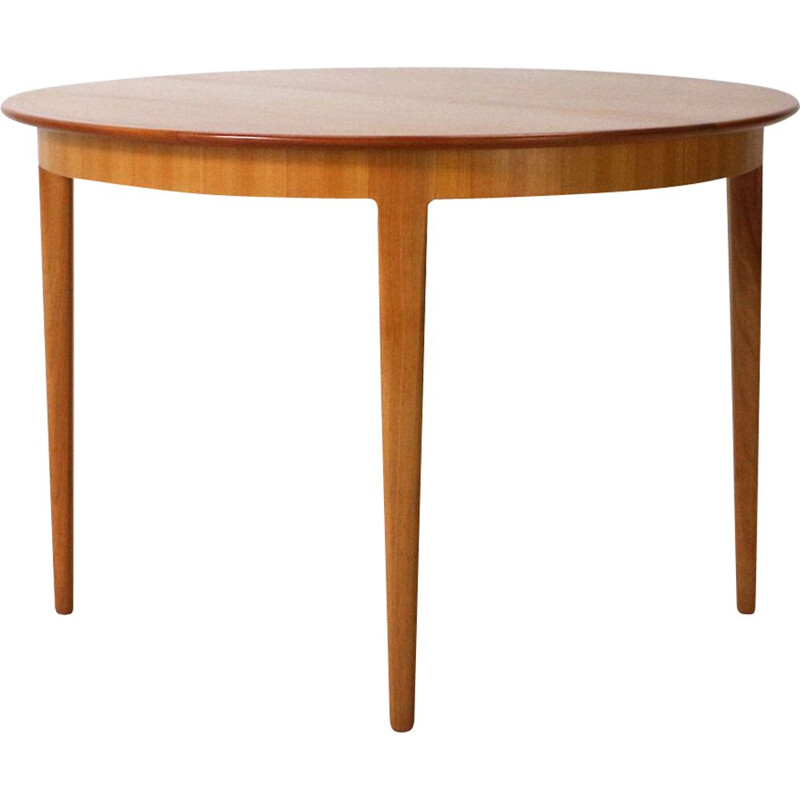 Extendible Cherrywood Vintage Dining Table, 1960s