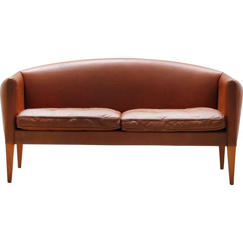 Vintage Danish Sofa by Illum Wikkelso for Holger Christiansen, 1960s