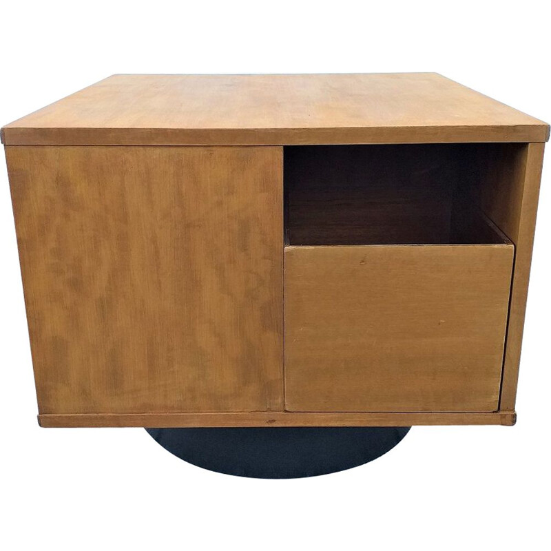 "Vintage ""cube"" coffee table or storage furniture 70s"
