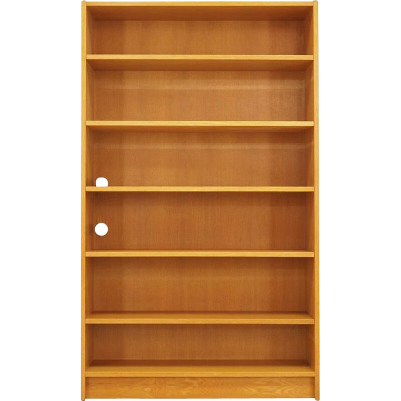 Vintage bookcase en ashwood 1970s