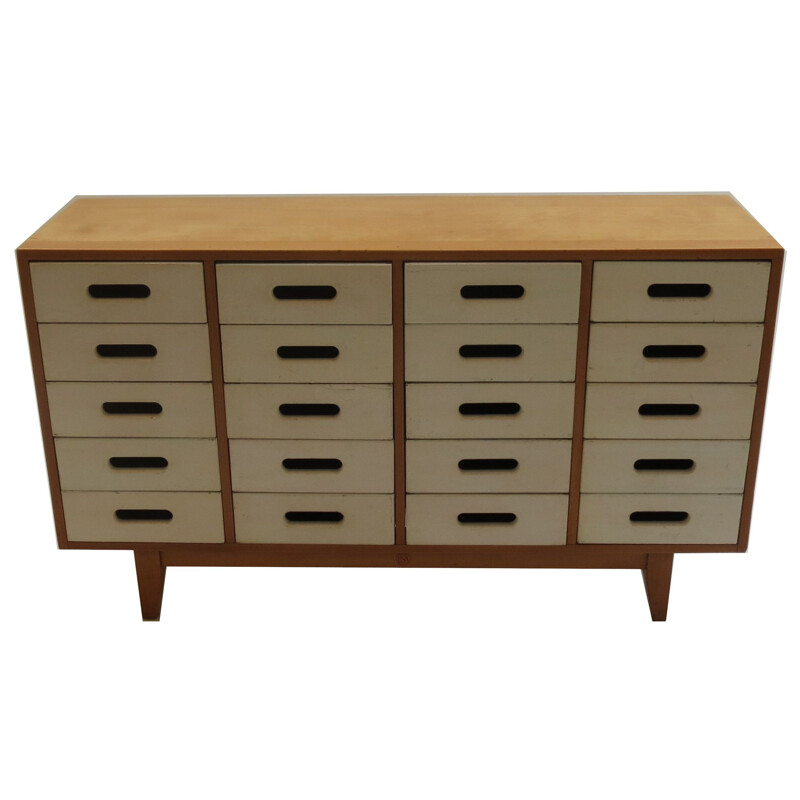ESA 2 chest of drawers in beech by James Leonard
