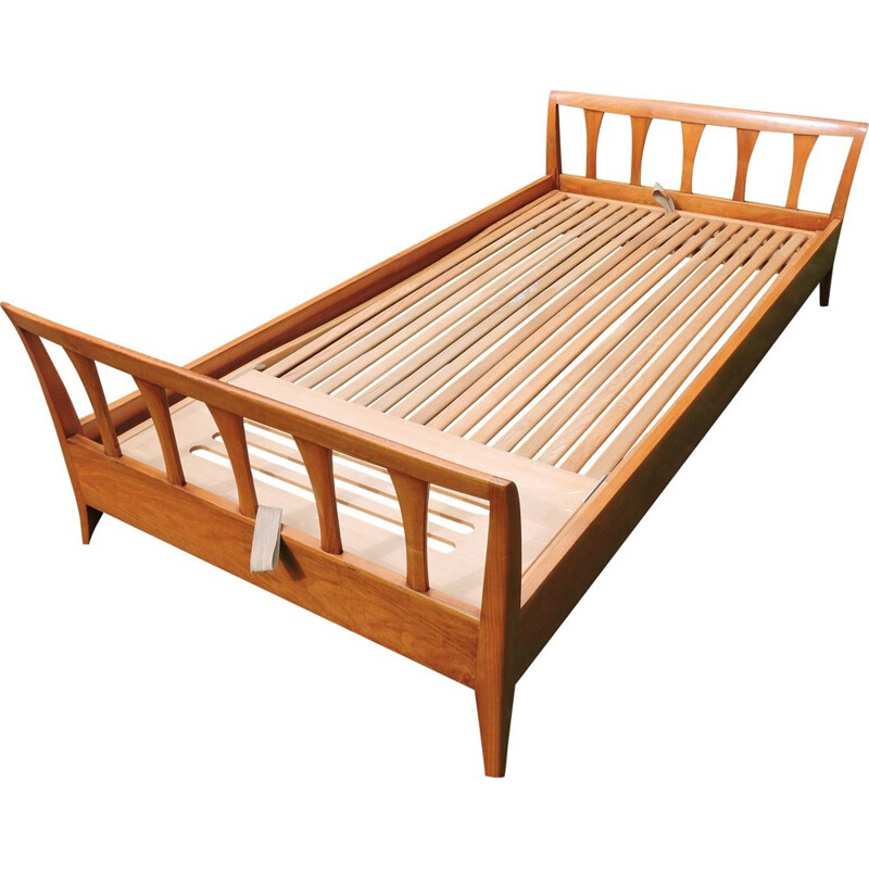 Danish vintage bed, daybed by Holma of Switzerland, 1970s