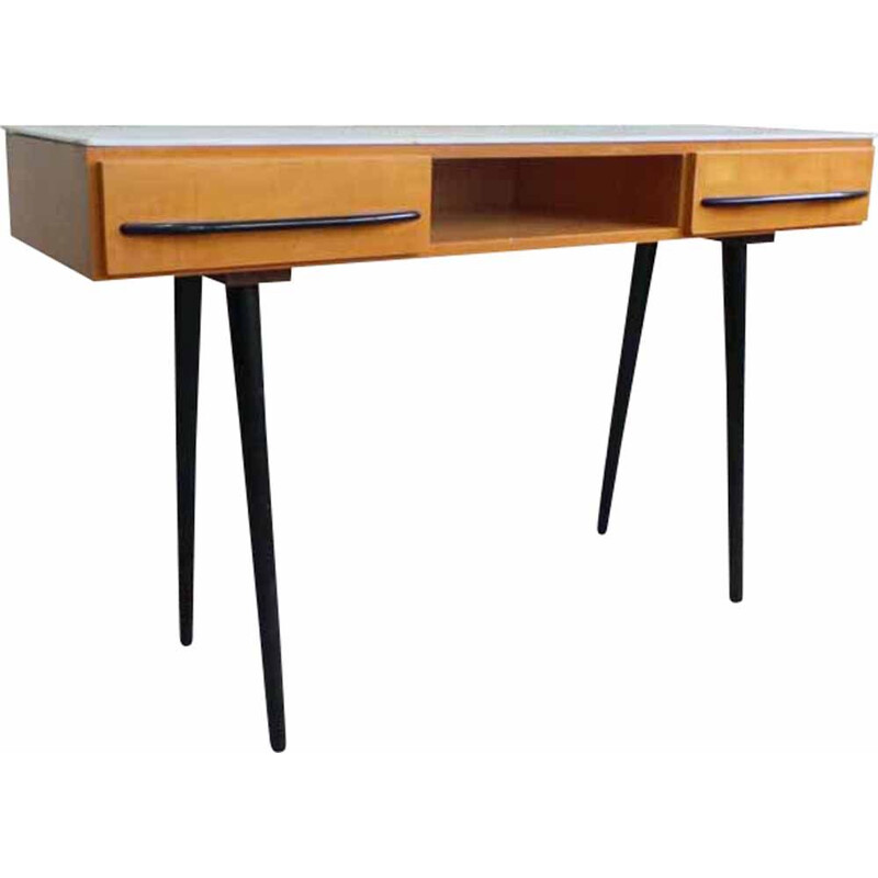 Vintage desk by Mjomir Pozar for UP Zavody, 1960