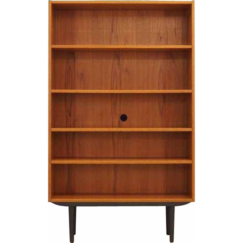 Vintage Bookcase in teak with Danish design 60s 70s