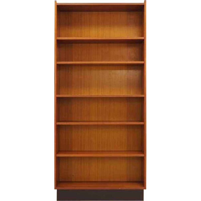 Vintage Bookcase in teak, Scandinavian design, 1960 1970s