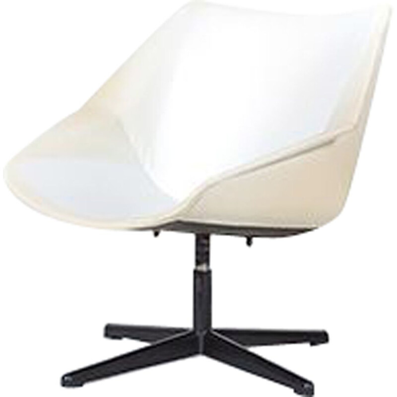 Vintage swivel chair by Cees Braakman for Pastoe, 1950s