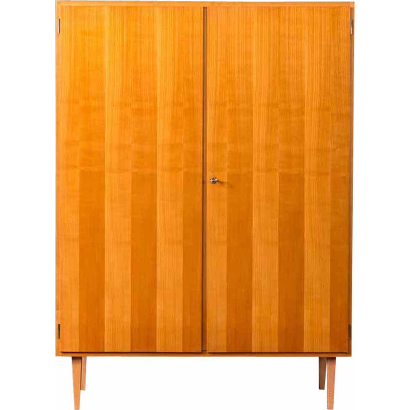 Vintage cabinet in cherry wood, 1950s