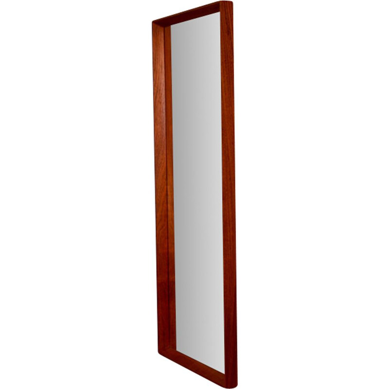 Vintage danish mirror in teak 1970s