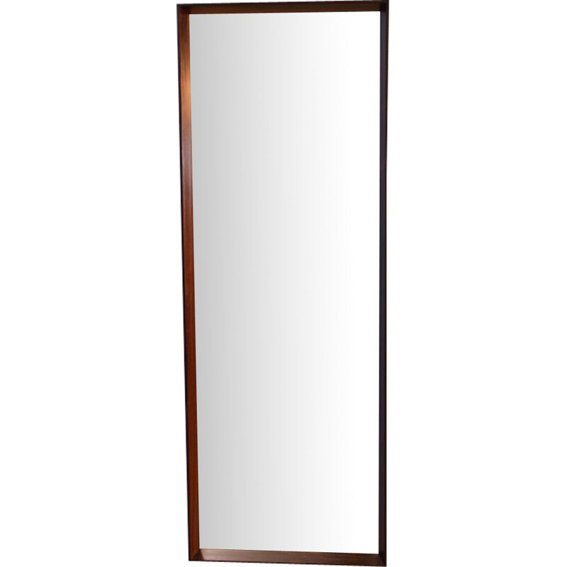 Vintage danish mirror in rosewood 1970s
