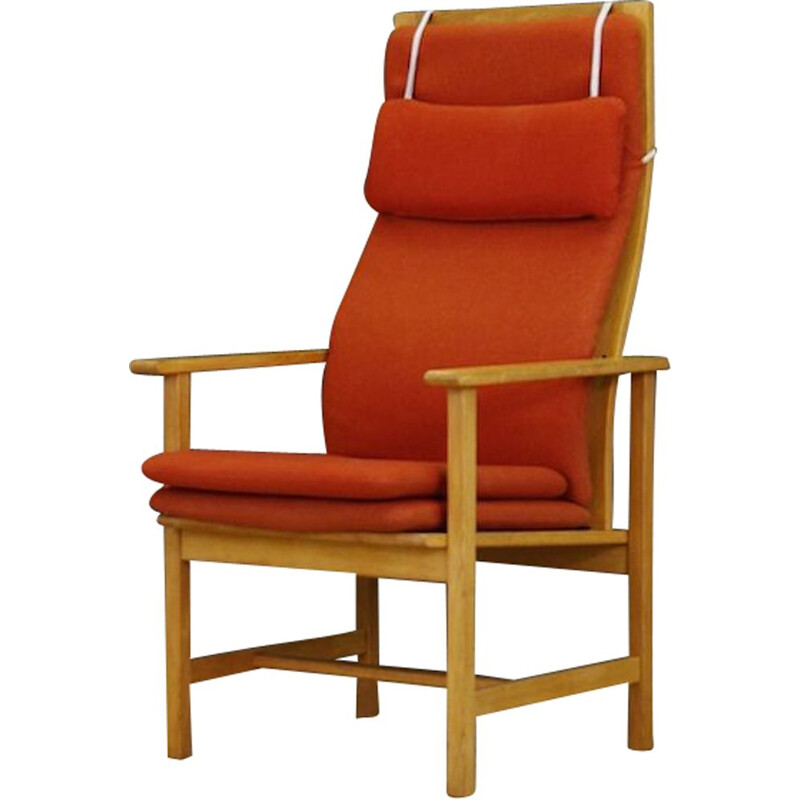 Vintage armchair, Danish design by Borge Mogensen, 1970-1980s