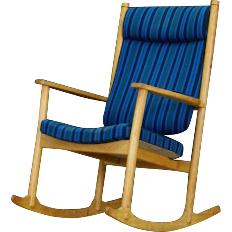 Vintage rocking chair by Kurt Ostervig, 1970-1980s