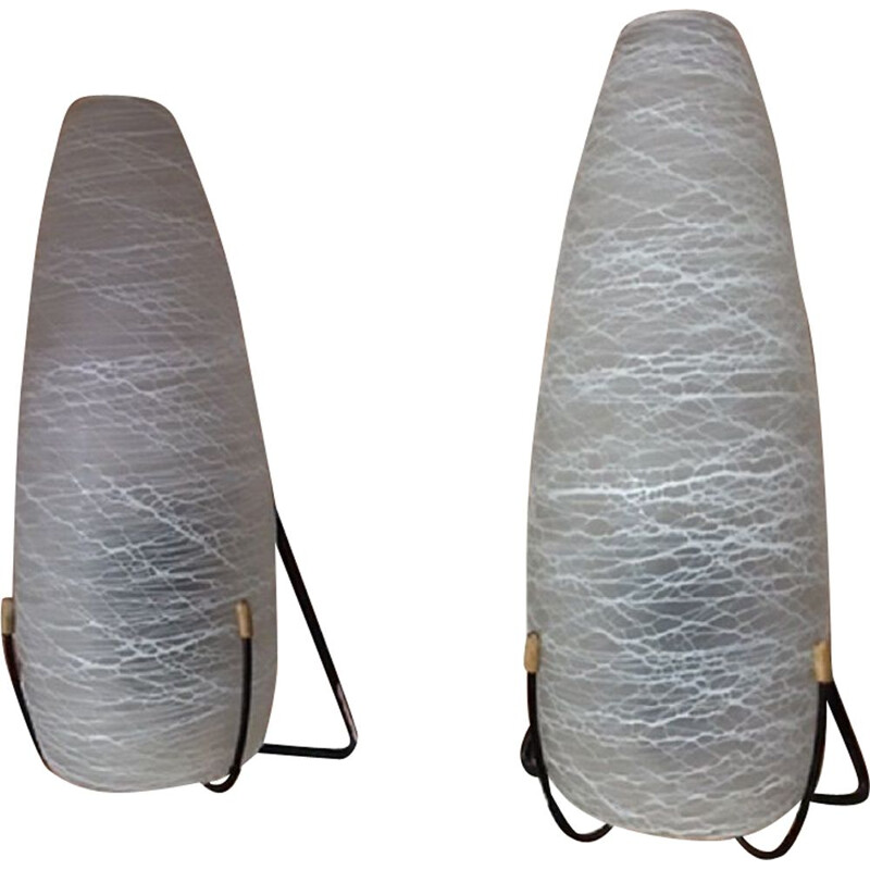 Vintage Pair of wall lamps by Louis Kalff for Phillips 1960s