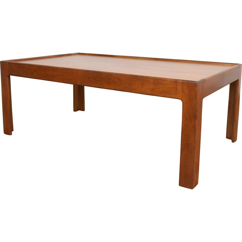 Vintage Danish Coffee Table in teak by Illum Wikkelsø, 1960s.