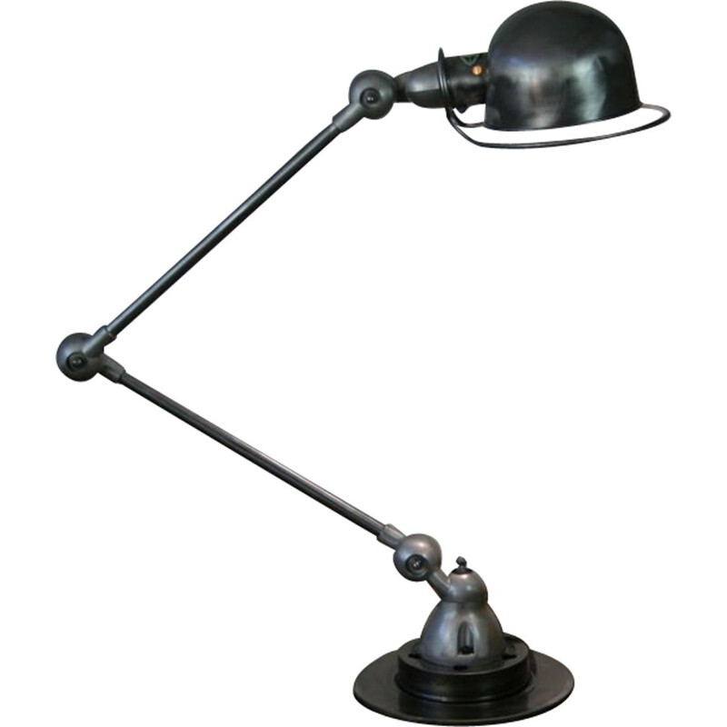 Vintage Jieldé steel lamp by Jean Louis Domecq