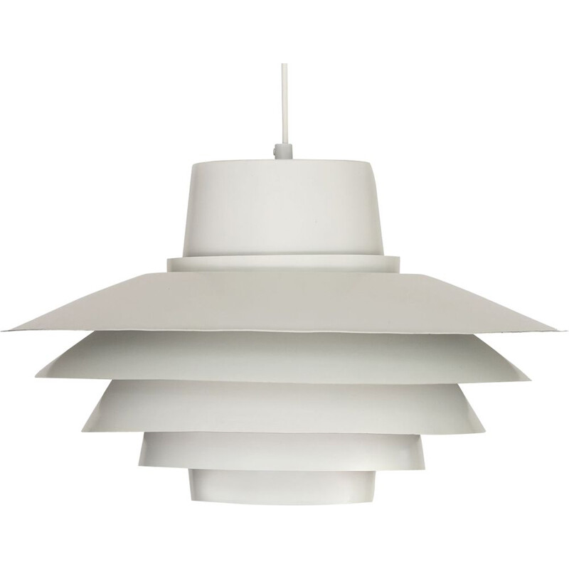 Verona white pendant light by Sven Middelboe for Nordisk Solar