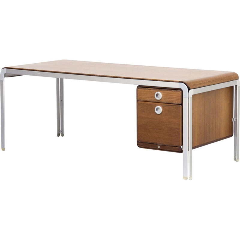 Vintage Djob desk by Arne Jacobsen for the Danish Nationalbank