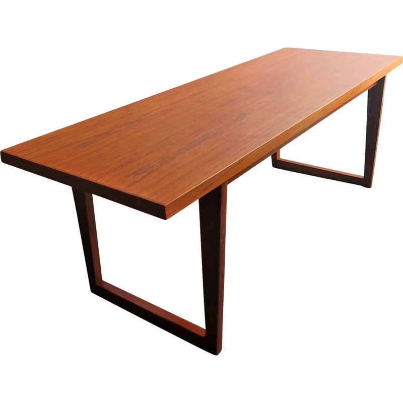 Vintage Danish coffee table in teak, 1970