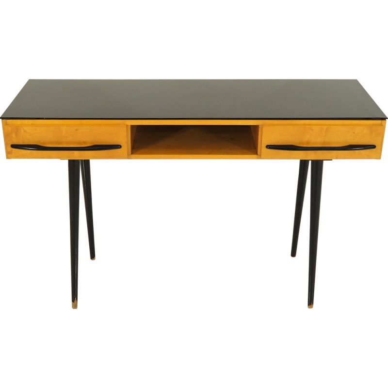 Vintage Desk by Jindřich Halabala for UP Závody, 1960s