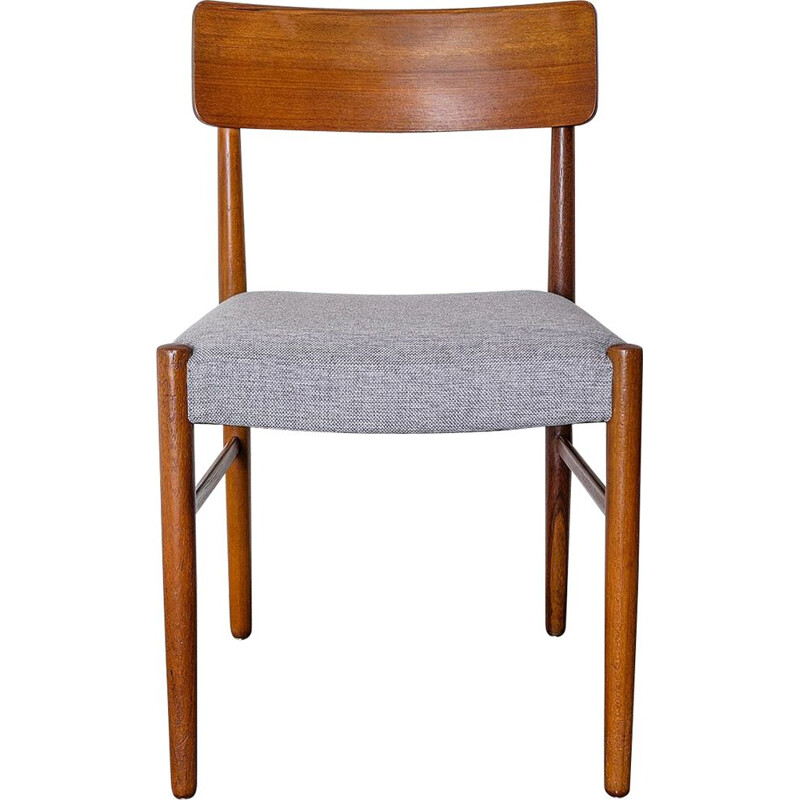 Vintage Scandinavian Dining Chair in teak, 1950s