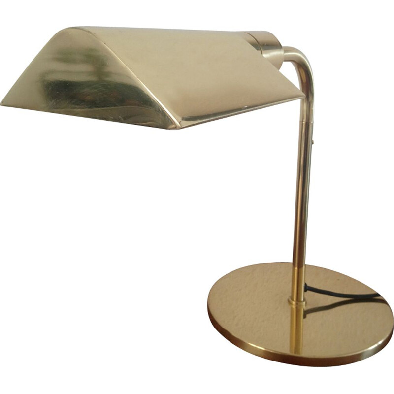 "Vintage ""Hansen Lamps"" desk lamp for Metalarte in metal 1980"
