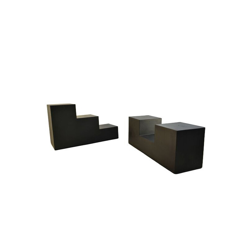 Gli Scacchi Side Tables by Mario Bellini, C&B Italia 1971