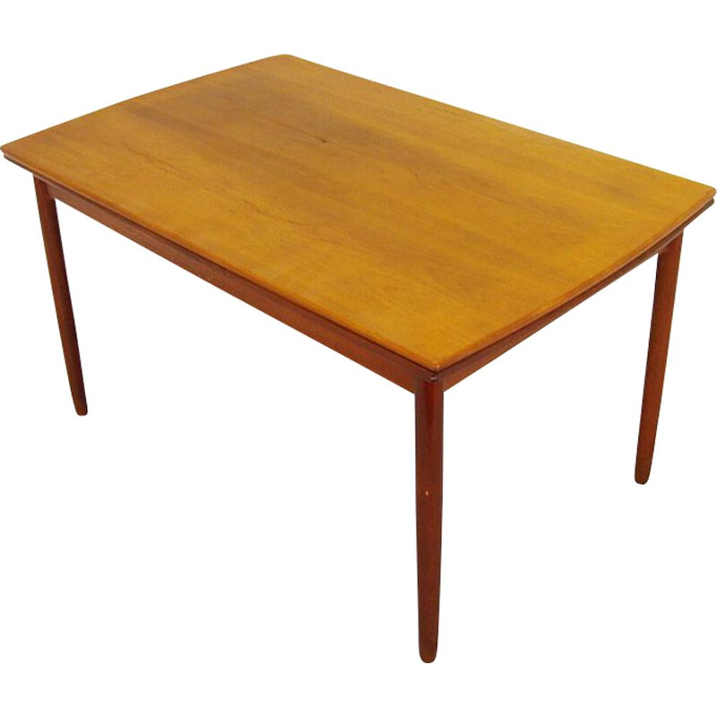 Vintage teak table Scandinavian Design, 1960-1970s