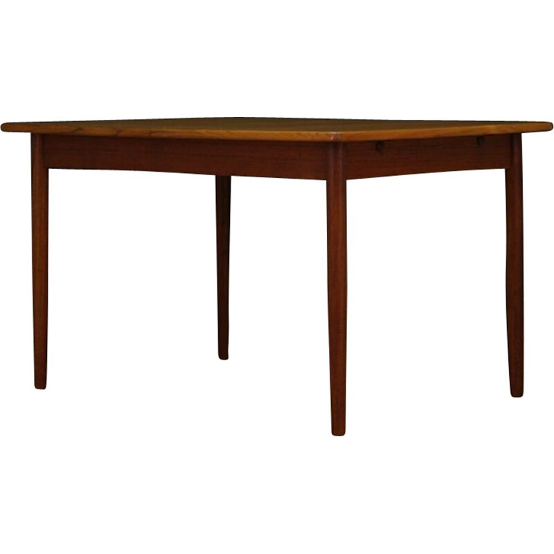 Danish vintage dining table in teak