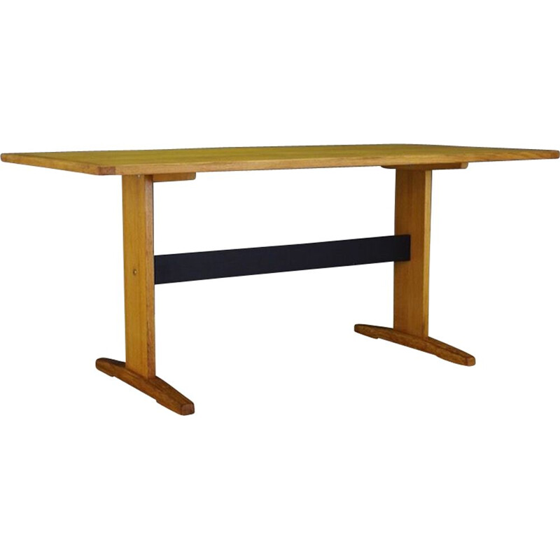 Scandinavian vintage table in ashwood