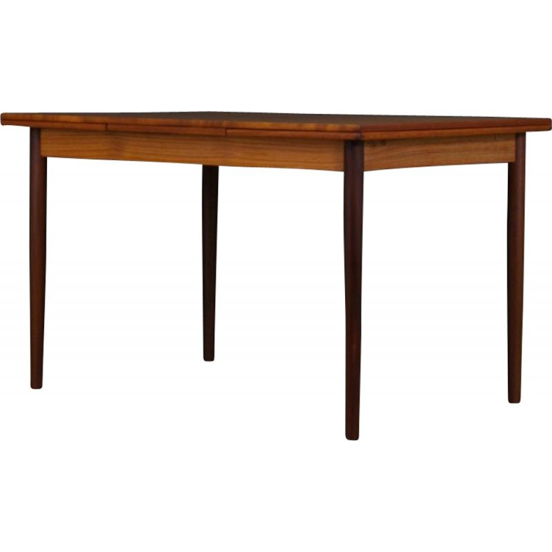 Scandinavian vintage table in teak