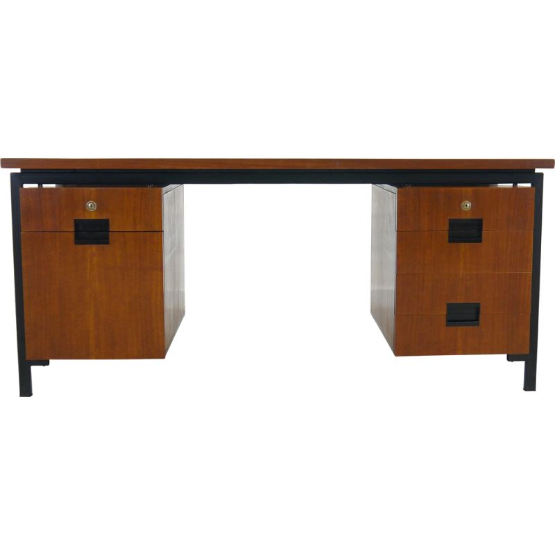 Vintage table desk by Cees Braakman, EU02, for Pastoe, Netherland, 1950s