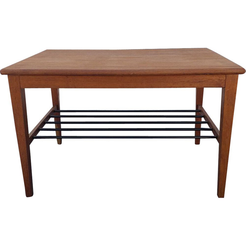 Scandinavian vintage teak coffee table, 1960s