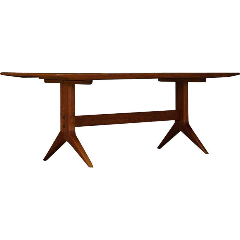 Vintage teak coffee table, Danish design, 1960s-1970s