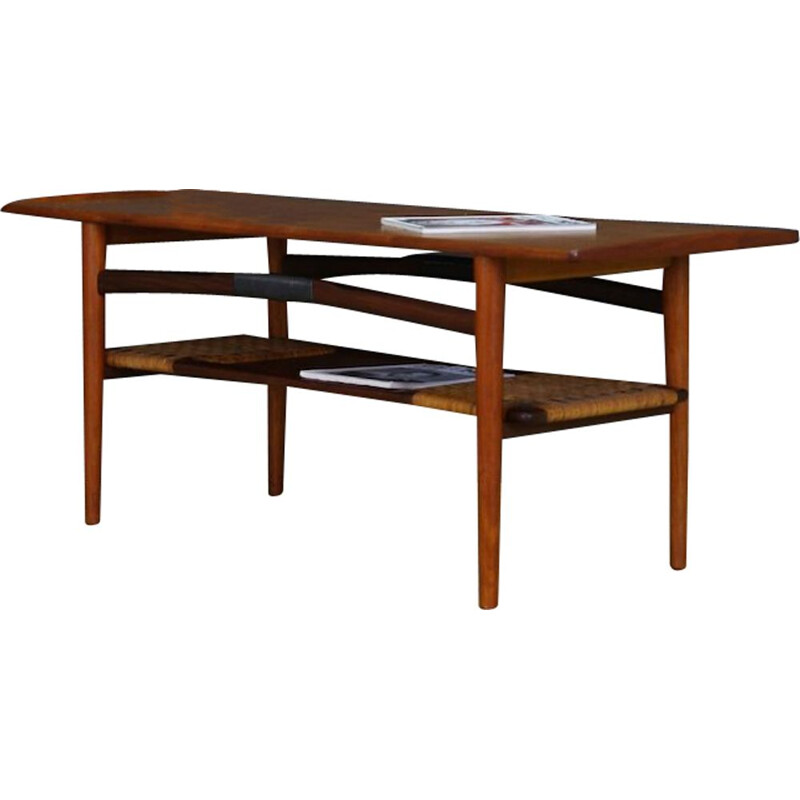 Vintage teak coffee table Danish design, 1960-1970s