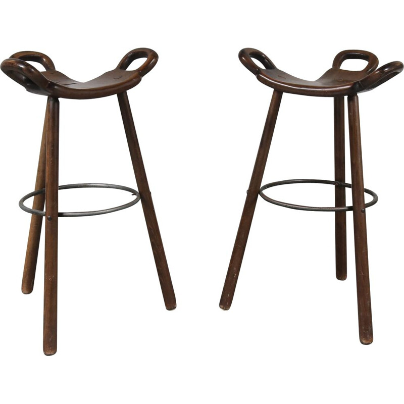 Vintage bar stool, Marbella Model, Spain, 1970