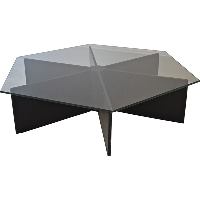 Vintage coffee table T878 by Pierre Paulin for Artifort, 1966